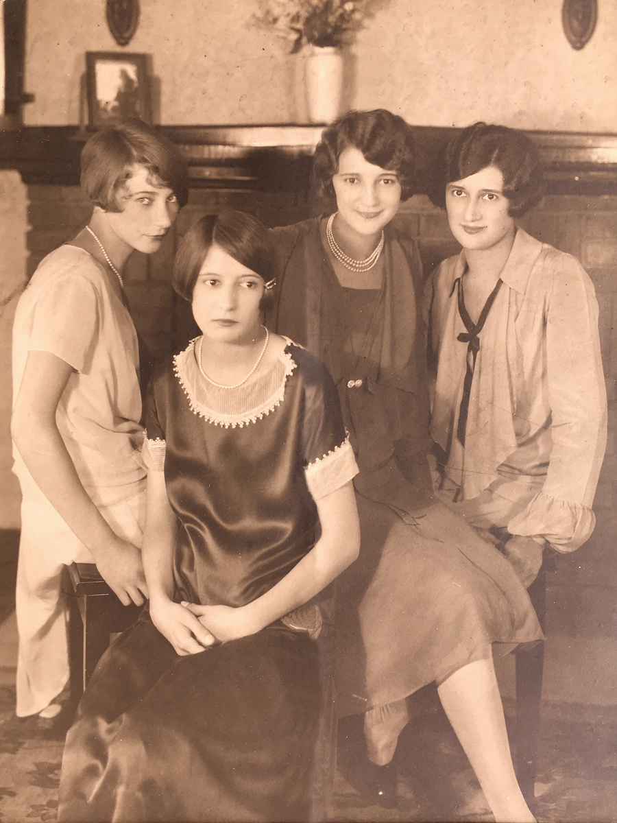 Blanche and her sisters